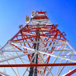 Radio Relay Link, Mobile Base Station. — Stock Photo