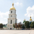 Belltower of a the Kievo-Pechora Monastery. Kiev — Stock Photo