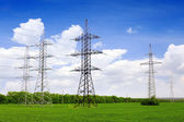 Power Transmission Line. — Stock Photo