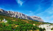 Crimea mountains Ai-Petri landscape. Ukraine. — Stock Photo