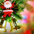 Stock Photo: Christmas, New Year decoration-SantClaus.