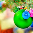 Christmas and New Year decoration. — Stock Photo #7777883