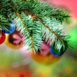 Christmas and New Year decoration. — Stock Photo