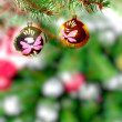 Christmas and New Year tree. Isolated — Stock Photo #7778379