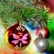 Christmas and New Year decoration. — Foto Stock