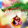 Christmas and New Year decoration. - Stock fotografie