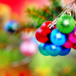 Christmas and New Year decoration. - Stock Photo