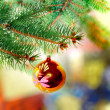 Christmas and New Year decoration. - Stockfoto