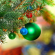 Christmas and New Year decoration. - Foto Stock