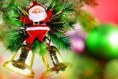 Boże narodzenie, nowy rok ozdoba santa claus. — Zdjęcie stockowe