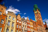 Old town in Gdansk Poland — Stock Photo