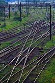 Railway network — Stock Photo