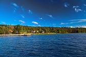 Landscape at the lake — Stock Photo