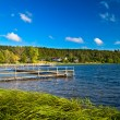 Landscape at the lake - Stock Photo