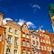 Old town in Gdansk Poland - Stock Photo
