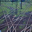 Railway network — Stock Photo