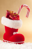 Christmas Boot — Stock Photo
