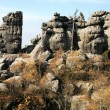 Rock formations - Table Mountain in Poland — Stock Photo