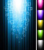 Line shine vertical background — Stock Vector
