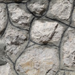 Stock Photo: Irregular assortment of stone wall background