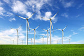 Ecology - Wind power — Stock Photo