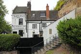 Old house in Nottingham,uk — Stock Photo