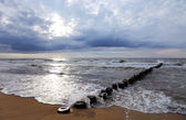 Landscape of the sea in the evening — Stock Photo