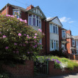 Row of Typical English Terraced Houses — Stock Photo #6924869