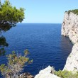 Cliff on the adriatic sea — Stock Photo