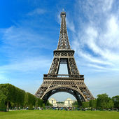 The Eiffel Tower, Paris France — Stock Photo