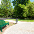 A bench in the park — Stock Photo #7091741