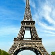The beautiful Eiffel Tower — Stock Photo