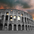 The Iconic, the legendary Coliseum of Rome - Stock Photo