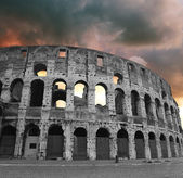 The Iconic, the legendary Coliseum of Rome — Stock Photo