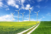 Wind energie — Stock Photo