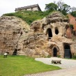 Caves at nottingham castle, uk - Stock Photo