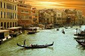 Venice -Grand Canal — Stock Photo