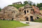 Caves at nottingham castle, uk — Stock Photo