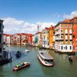 Venice,Beautiful water street — Stock fotografie