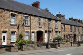 Typical english street,uk — Stock Photo