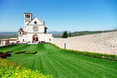 Basilica of Saint Francis, Assisi, Italy — Stock Photo