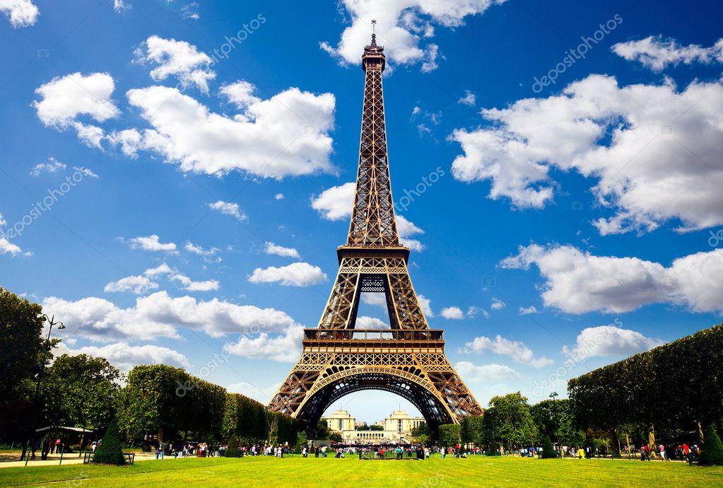 belle photo de la tour eiffel paris photographie majafoto 7745303. Black Bedroom Furniture Sets. Home Design Ideas