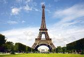 Paris- The Eiffel Tower — Stock Photo