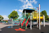 Children's Playground in the city, uk — Stock Photo