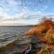 Foto Stock: Autumn lake