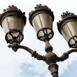 Paris street lamp - Photo