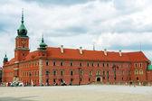 Royal castle in Warsaw — Stockfoto