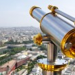 Eiffel Tower telescope — Stock Photo