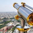 Stock Photo: Eiffel Tower telescope