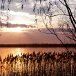 Sunset over lake — Stock Photo #7222144